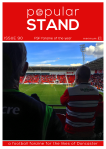 front cover of issue 90 of the Doncaster Rovers fanzine, popular STAND