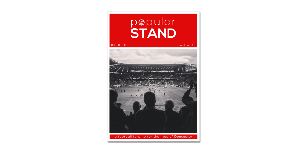 popular STAND fanzine issue 92 on sale at Doncaster Rovers vs Plymouth Argyle