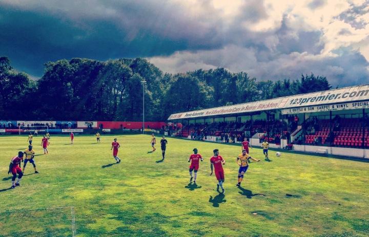 2017-18 10 Welling United 1-2 Harringey Borough (2)