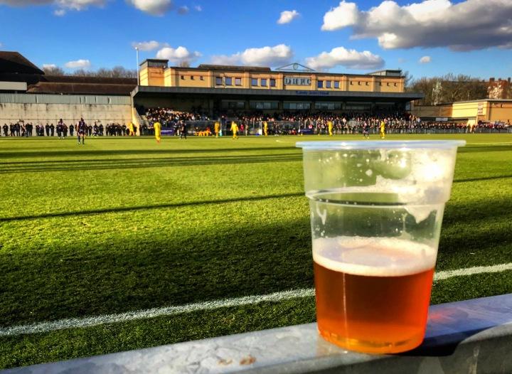 2017-18 38 Dulwich Hamlet 1-1 Enfield Town (1)