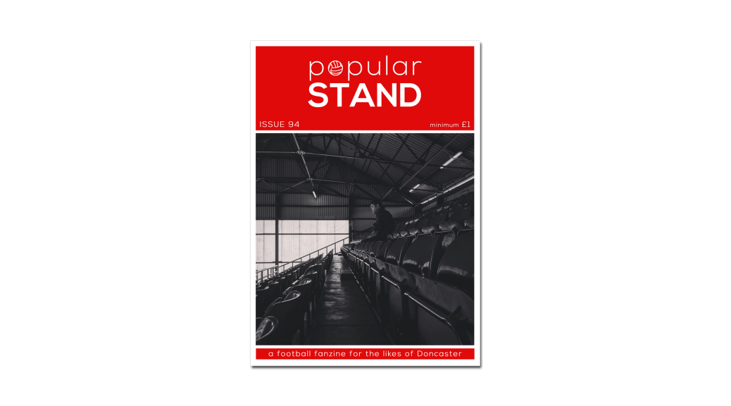 The front cover of issue 94 of popular STAND fanzine