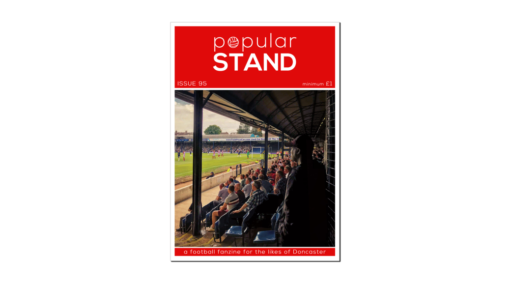 front cover of issue 95 of popular STAND fanzine