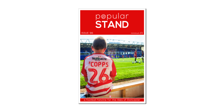 front cover of issue 96 of popular STAND fanzine