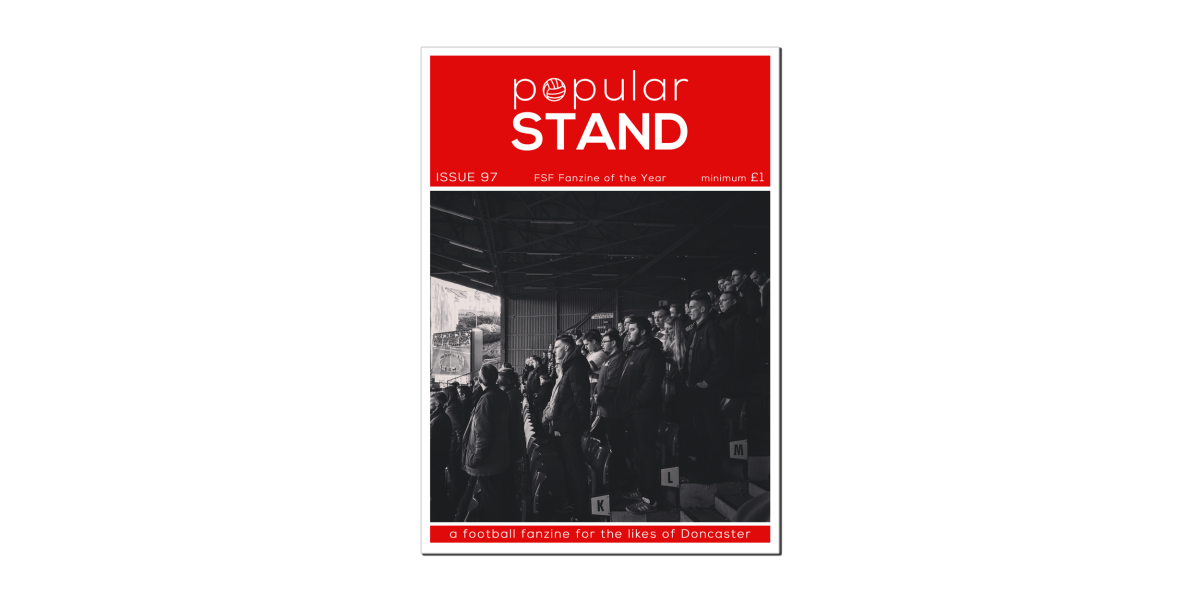 popular STAND fanzine issue 97 on sale at Doncaster Rovers vs Scunthorpe United