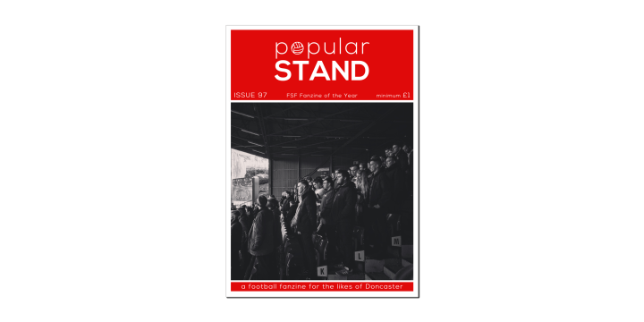 The front cover of issue 97 of popular STAND fanzine