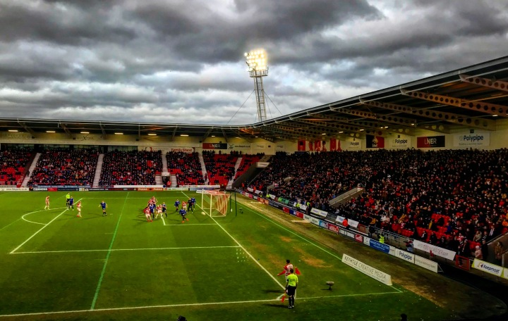 Doncaster Rovers 2-1 Oldham Athletic: 700 word match report