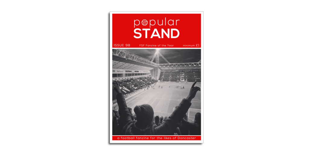 popular STAND fanzine issue 98 front cover