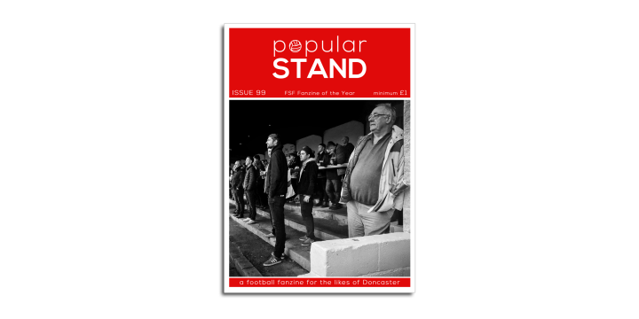 popular STAND fanzine issue 99 front cover
