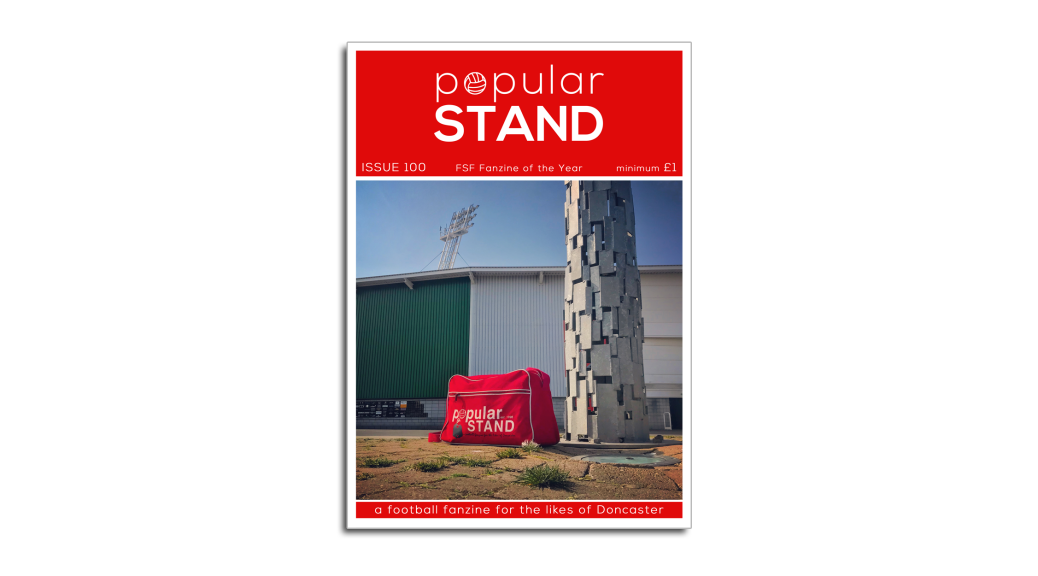 the front cover of issue 100 of popular STAND fanzine