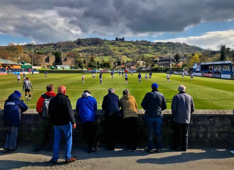 Riber Castle stands on the hill-top above Causeway Lane, where Matlock Town take on Witton Albion in the Northern Premier League Premier Division