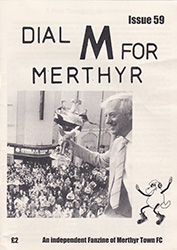 Dial M for Merthyr fanzine