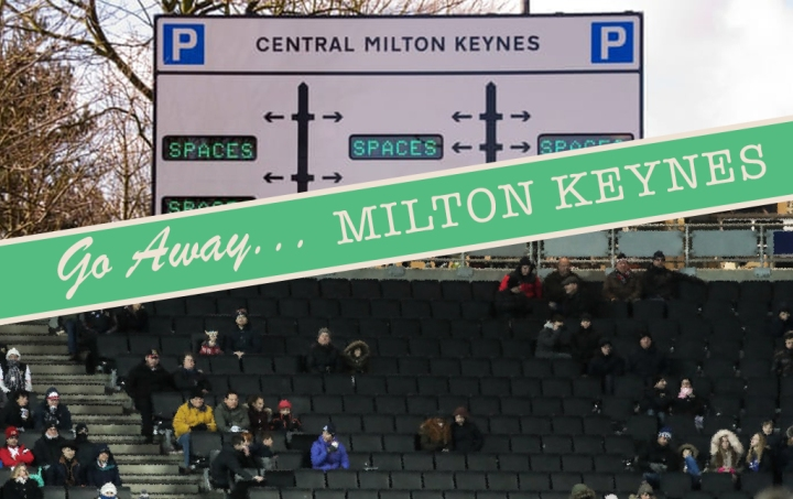 Milton Keynes in postcard form