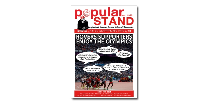 popular STAND fanzine issue 59 front cover