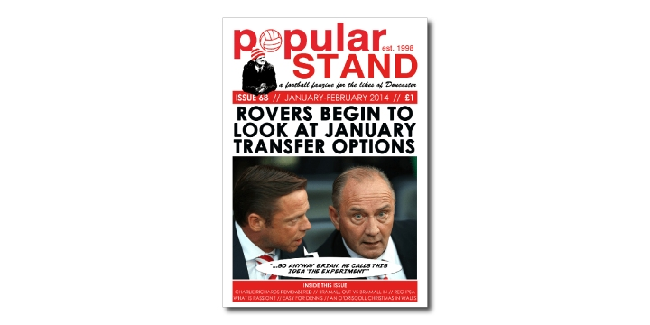 popular STAND fanzine issue 68 front cover