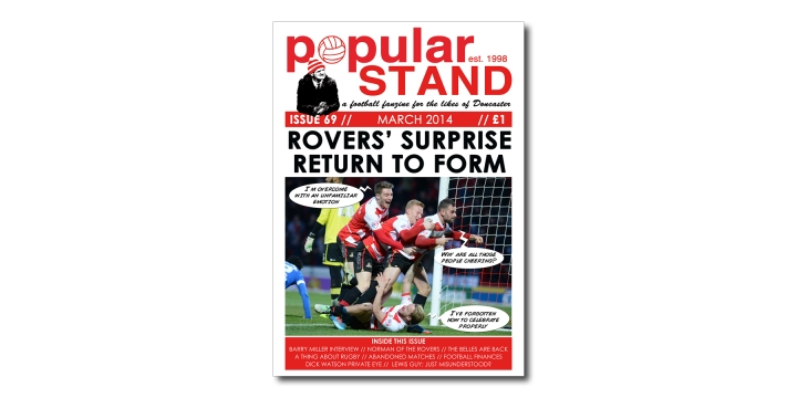 popular STAND fanzine issue 69 front cover