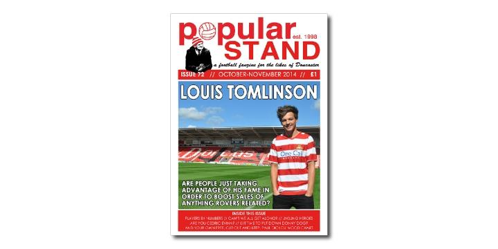 popular STAND fanzine issue 72 front cover