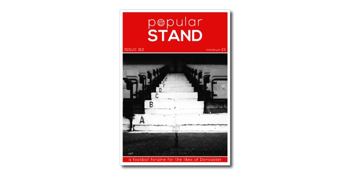 popular STAND fanzine issue 83 front cover