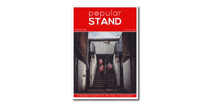 popular STAND fanzine issue 84 front cover