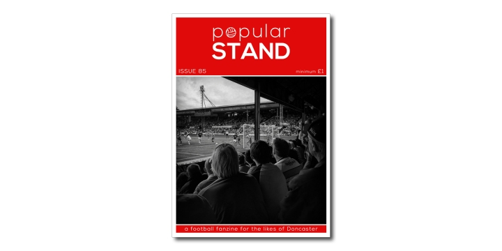 popular STAND fanzine issue 85 front cover