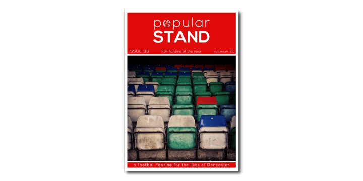popular STAND fanzine issue 86 front cover