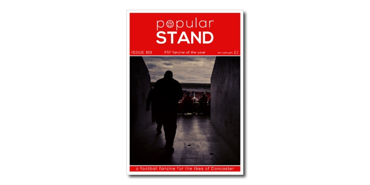 popular STAND fanzine issue 89 front cover