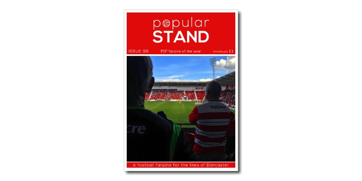 popular STAND fanzine issue 90 front cover