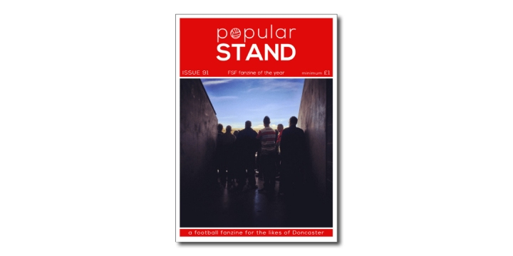 popular STAND fanzine issue 91 front cover