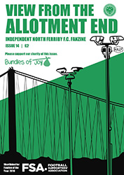 View From the Allotment End fanzine