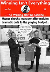 Winning Isn't Everything fanzine