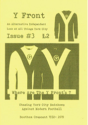 Y Front fanzine