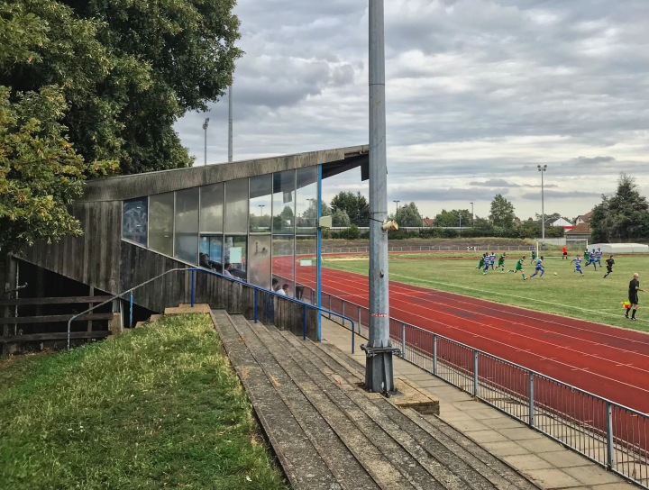 Ilford take on Enfield at Cricklefields Stadium
