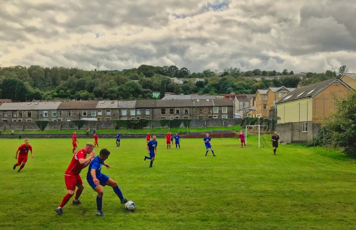 Penrhiwceiber Rangers take on Ynyshir Albions at Glassbrook Field