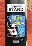 front cover of issue 104 of popular STAND fanzine